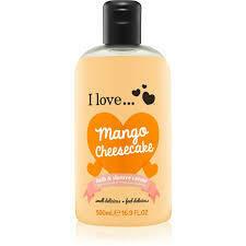 I Love Bubble Bath Mango Cheesecake & Shower Creme 500ml