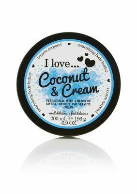 I Love Body Butter Κρέμα Σώματος Coconut & Cream 200ML