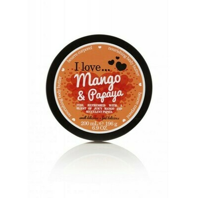 I Love Body Butter Κρέμα Σώματος Mango & Papaya 200ML