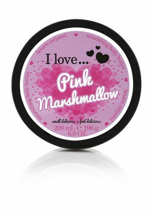 I Love Body Butter Κρέμα Σώματος Pink Marshmallow 200ML