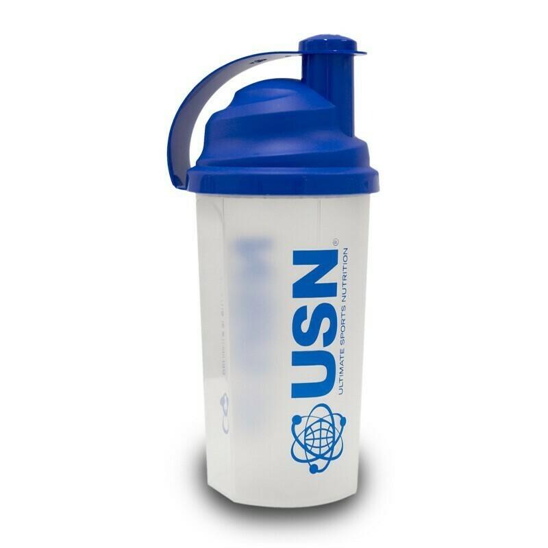 Usn Shake Bottle blue
