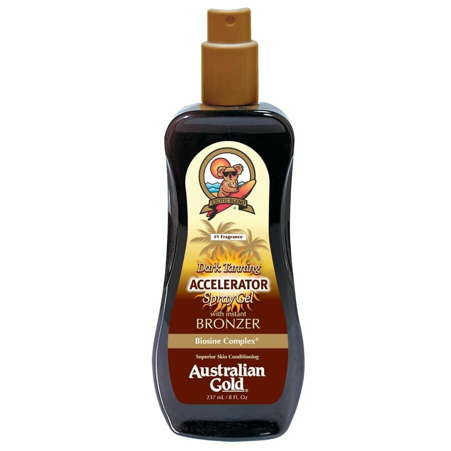 Australian Gold Botanical Accelerator Spray Gel with Bronzer 237ml - Cocoa Dreams