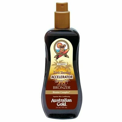 Australian Gold Botanical Accelerator Spray Gel with Bronzer 237ml - Cocoa Dreams