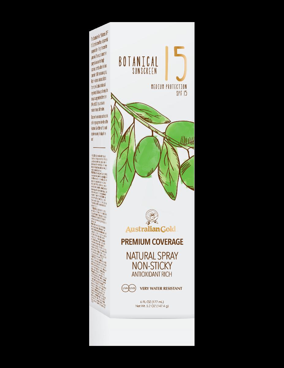 Australian Gold Botanical Botanical Spf 15 Cont Spray 177ml - Citrus Oasis