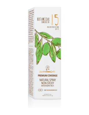 Australian Gold Botanical Botanical Spf 15 Cont Spray 177ml - Citrus Oasis