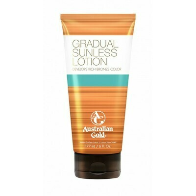 Australian Gold Botanical Gradual Build Sunless Lotion 177ml - Sunless Breeze