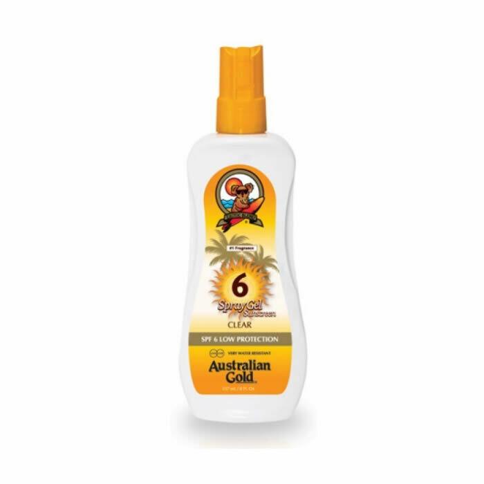 Australian Gold Spf 6 Spray Gel 237ml - Cocoa Dreams