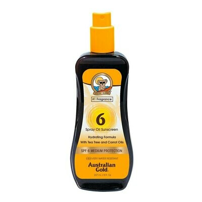 Australian Gold Spf 6 Spray Oil with Carrot 237ml- Cocoa Dreams