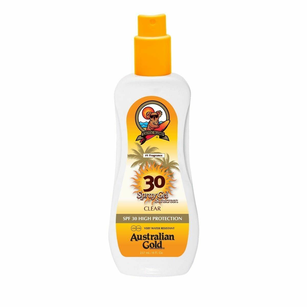 Australian Gold Spf 30 Spray Gel 237ml - Cocoa Dreams