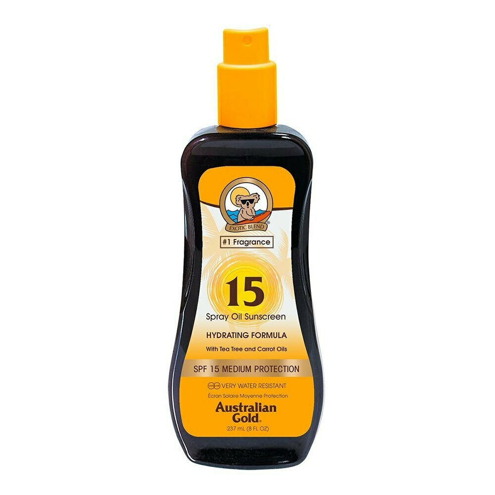 Australian Gold Spf 15 Spray Oil with Carrot