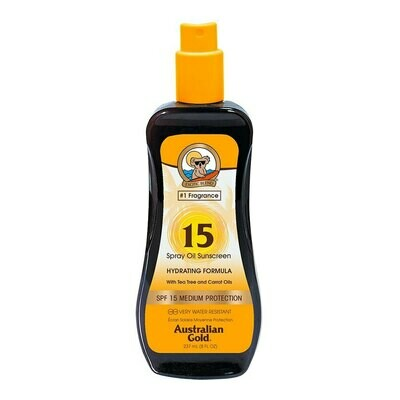 Australian Gold Spf 15 Spray Oil with Carrot