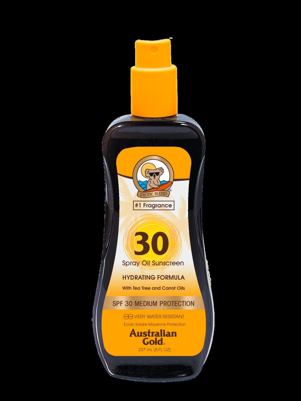 Australian Gold Spf 30 Spray Oil with Carrot 237ml