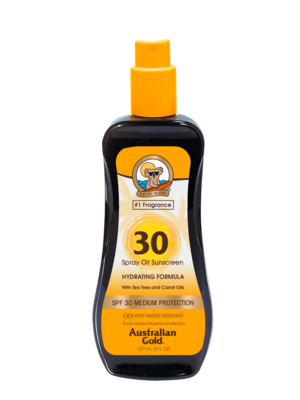 Australian Gold Spf 30 Spray Oil with Carrot 237ml