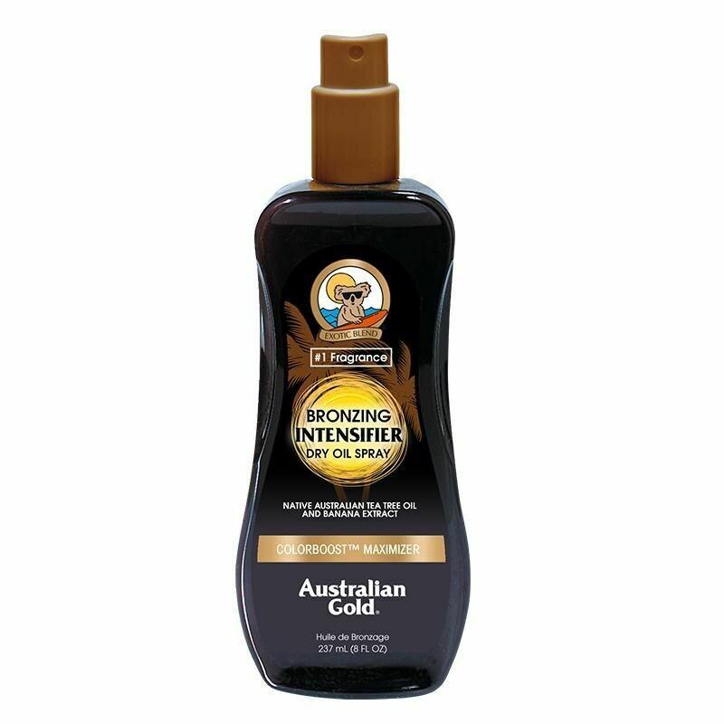 Australian Gold Intensifier Bronzing Dry Oil Spray 237ml - Cocoa Dreams