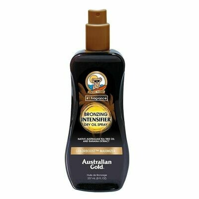 Australian Gold Intensifier Bronzing Dry Oil Spray 237ml - Cocoa Dreams