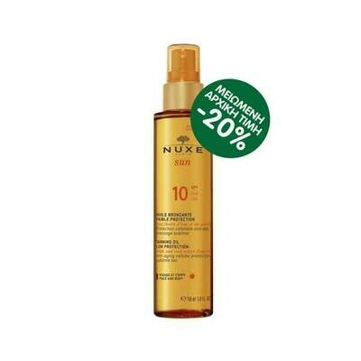 Suntan Oil spf10 150ml pr(-20%)