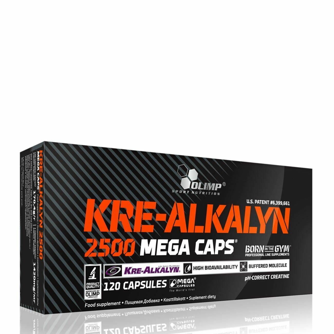 Olimp Kre-Alkalyn 2500 120 Mega Caps