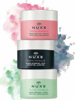 Triple Face Masks Detoxifying - Exfoliating - Purifying 3X15 ml