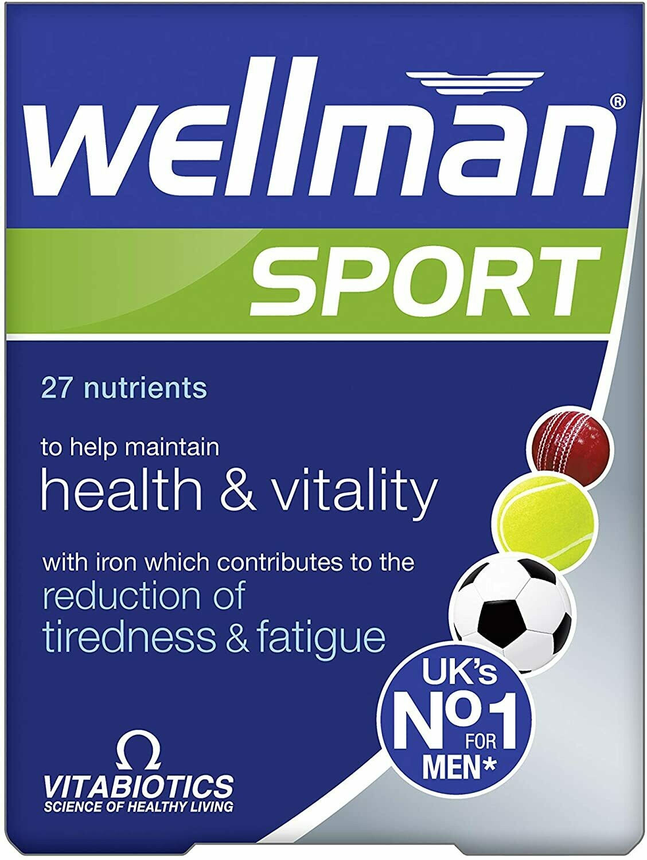 Vitabiotics Wellman Sport 30caps