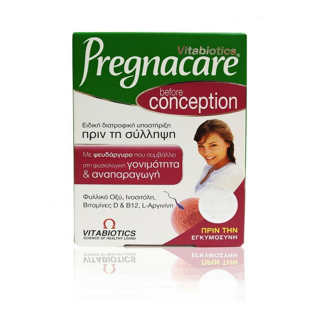 Vitabiotics Pregnacare Conception Βιταμίνες για το Αναπαραγωγικό Σύστημα 30tabs