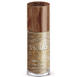 S'N' Bιο Βιολογικό Βερνίκι Νυχιών Earth - Gold 8ml
