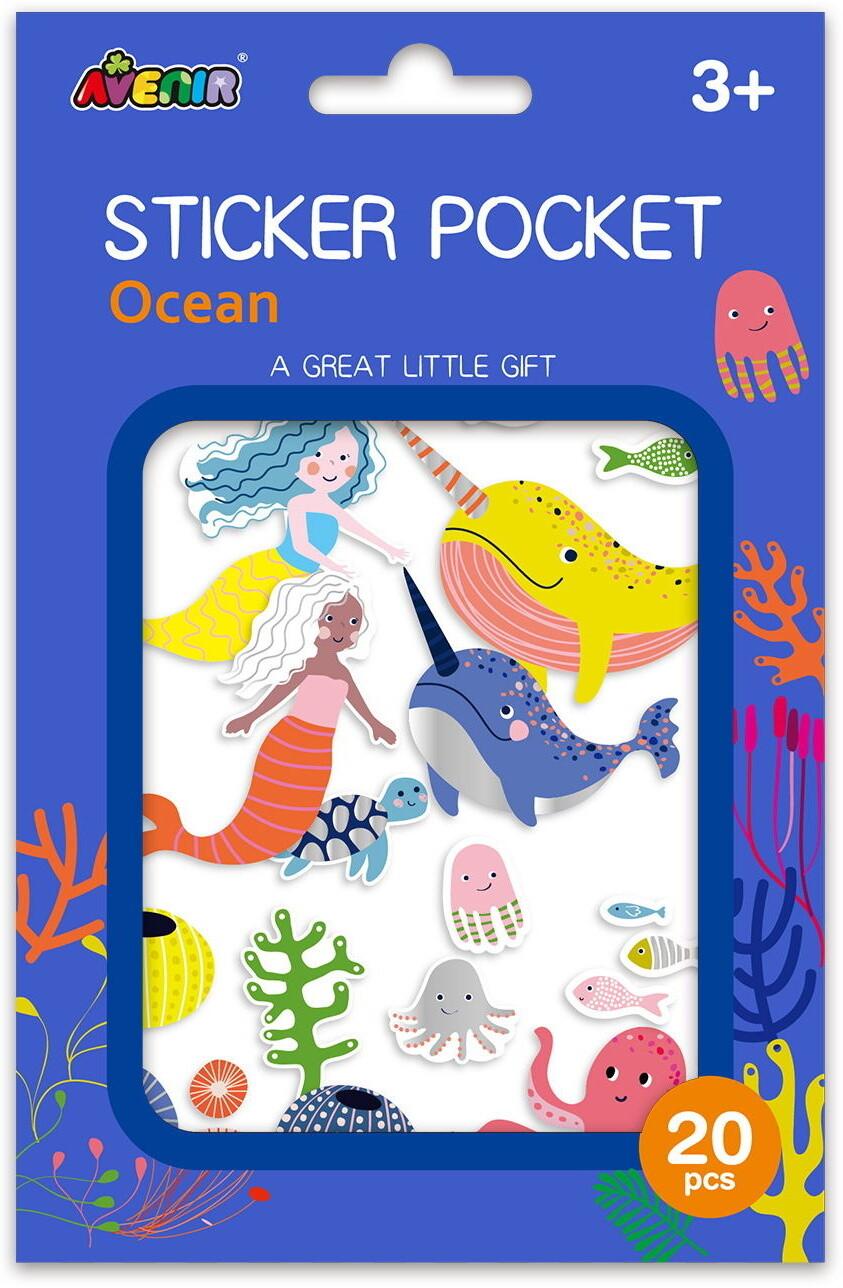 Sticker Pocket  - Ocean
