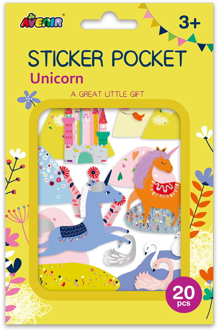 Sticker Pocket  - Unicorn