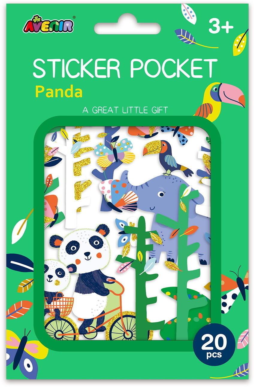 Sticker Pocket  - Panda
