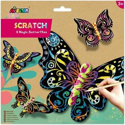 Scratch - 4 Magic Butterflies