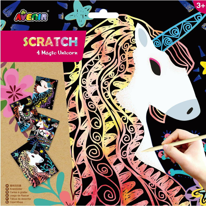 Sratch - Magic Unicorn  Head