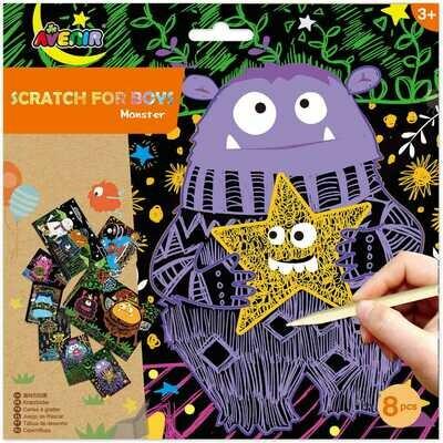 Scratch- Monster