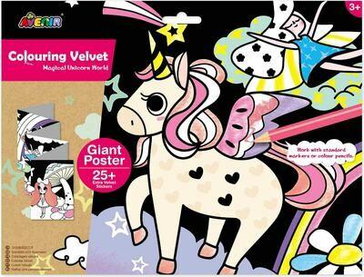 Giant Velvet Poster - - Unicorn