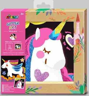 Glitter Art Unicorn
