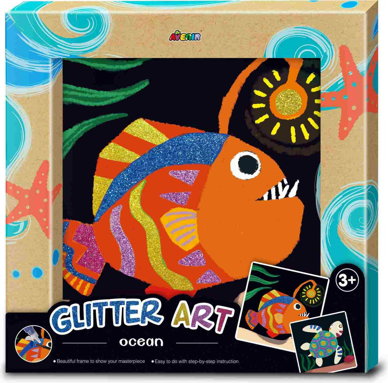 Glitter Art Ocean