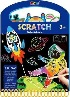 Scratch Book -Adventure