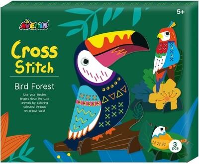 Cross Stich - Bird Forest