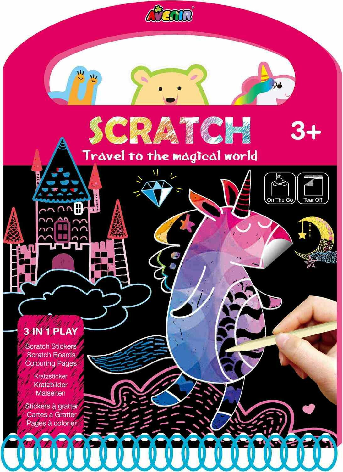 Scratch Book- Magical