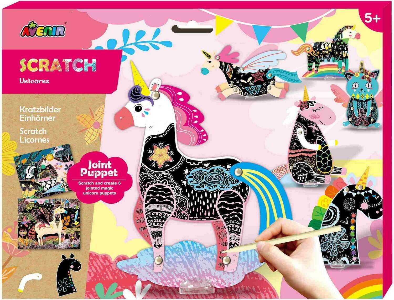 Scratch Puppets- Unicorn