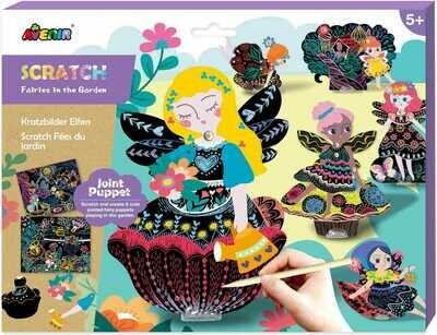Scratch puppets- Fairies