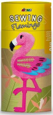 Sewing Doll Flamingo