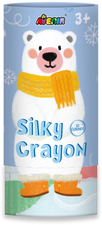 Silky Crayons- Polar Bear