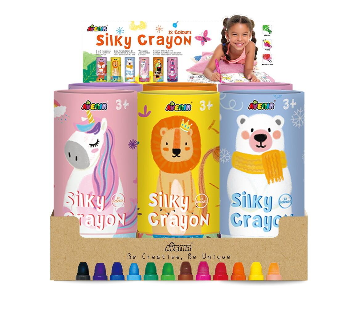 Silky Crayons Display Set