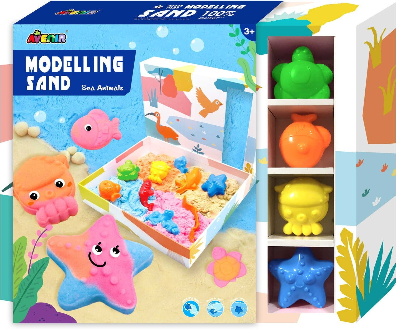 Modelling sand  - Sea Animals