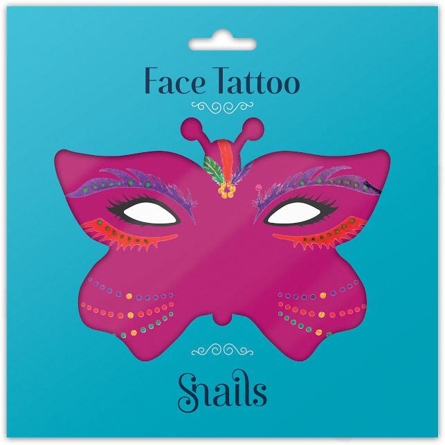 Snails Face Tattoos – Brazil