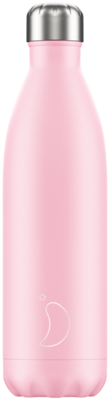 Chilly's Ανοξείδωτο Θερμός Pastel Pink 750ml