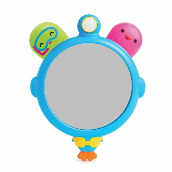 See & Squirt Bath Mirror