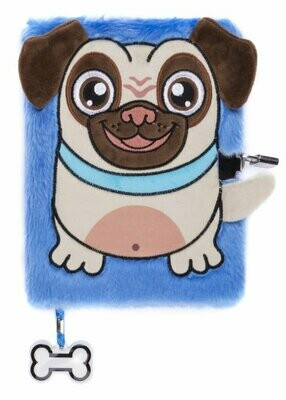 Plush NoteBook - Pug Dog
