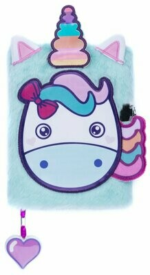 Plush NoteBook - Unicorns Head