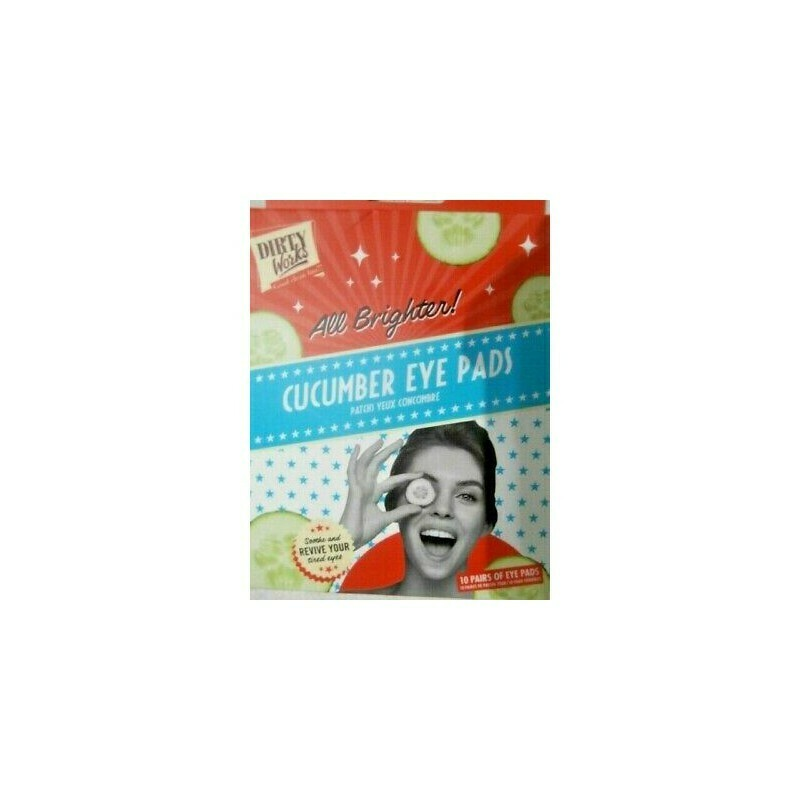 Dirty Works Cucumber Eye Pads (μάσκα ματιων *10τεμ)