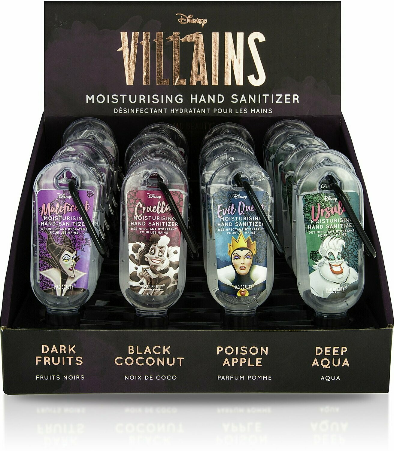 Disney Villains Clip & Clean Hand Sanitazer 30ml